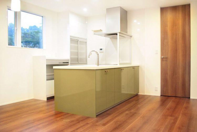 新築キッチン施工例1