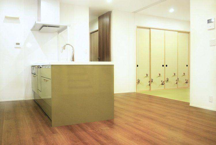 新築キッチン施工例2