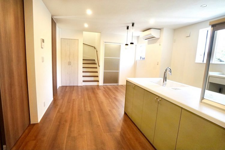 新築キッチン施工例3