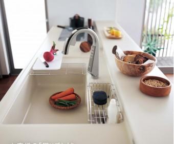 人工 大理石 キッチン